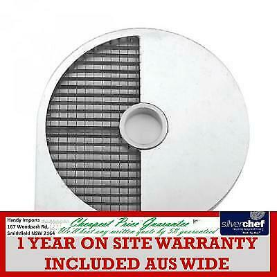 Fed Commercial 10X10X10Mm Dicing Disc 4 Vc55Mf & Vc65Ms Vegetable Cutter Ds1000