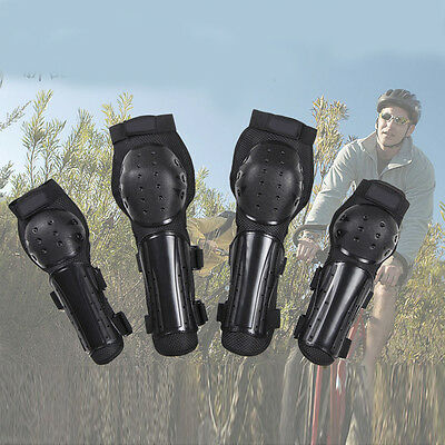 Adult Motorcycle Bike Racing Knee Pads Elbow Protector Armor Guards Gear 4pcs