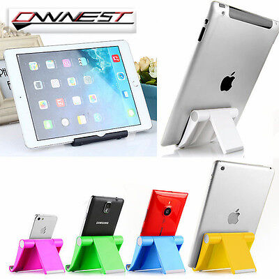 360° Universal Foldable Mobile Phone Desk Stand Holder For Tablet PC&iPhone&iPad