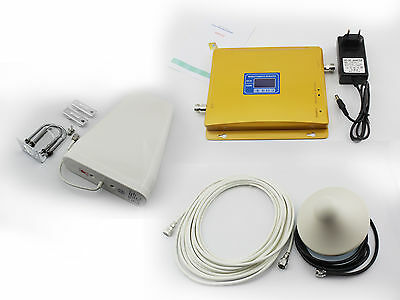 Dual Band 900/1800MHz GSM/3G DCS LTE CellPhone Signal Booster Repeater Amplifier
