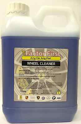 Professional 1Litre acid free wheel cleaner STRONG ALLOY WHEEL CLEANER Alloys