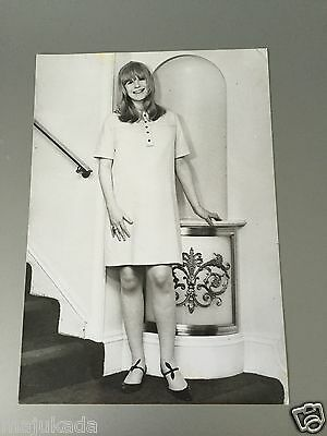 MARIANNE FAITHFULL - PHOTO DE PRESSE ORIGINALE 18x13 cm