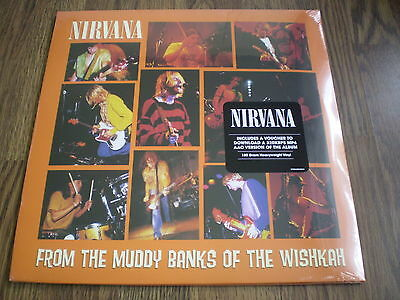 NIRVANA - FROM THE MUDDY BANKS OF THE WISHKAH NEW 2 x 180g LP SEALED