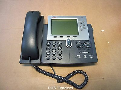 Cisco CP-7962G 7962 Unified IP Phone VoIP Telefon Telephone incl handset