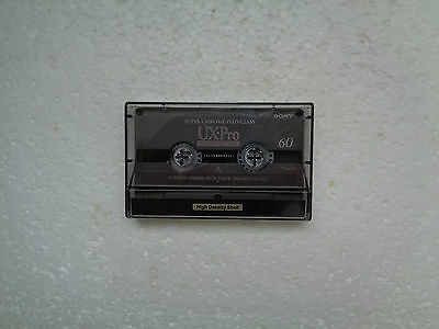 Vintage Audio Cassette SONY UX-Pro 60 From 1995 - Fantastic Condition !!