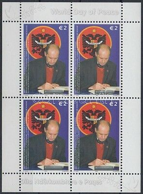 Cosovo stamp International Peace Day minisheet 2006 MNH Mi 58 WS205299