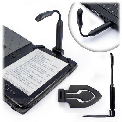 TUFF LUV Bright Spark Clip-On Led Reading Light (USB Rechargeable) - Black