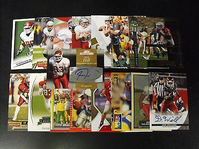 Washington State Cougars 25 Card Lot With  Autographs