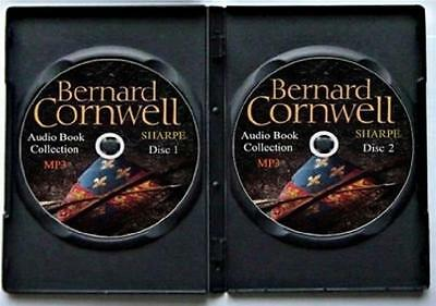 Bernard Cornwell Sharpe 23 Audio Book Collection of 270 Hours MP3s on 2 DVDs