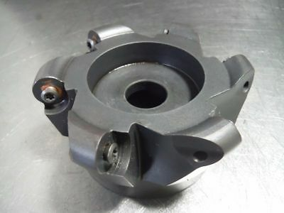 """LMT Fette 4"""" Indexable Facemill 1.5"""" Arbor 2346679 (LOC2359)"""
