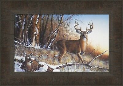 Jim Hansel Limited Edition Deer Buck Prints 3 different