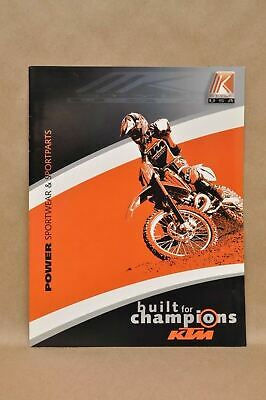 New 1999 KTM Racing K Style Equipment Apparel Accessories Parts Catalog Book