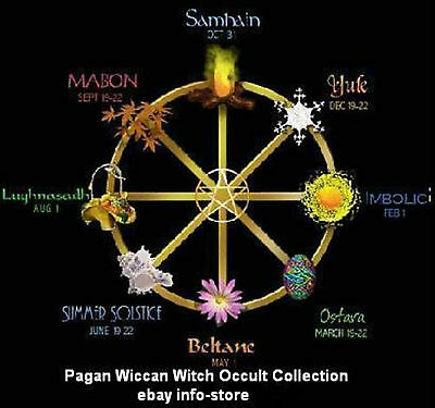 Pagan Wiccan Witch Occult eBooks Huge Collection on CD