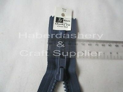 Chunky Zipper/zip #8 Closed End***navy***pick 1 Size