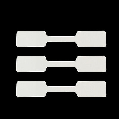 100pcs Jewelry Price Tags Necklace Bracelet Ring Blank Labels Paper Stickers CN