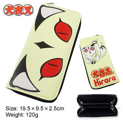 Anime Inuyasha Kirara Multifunction Casual Long Wallet/Cell Phone Clutch Purse