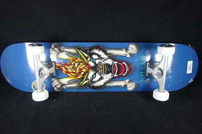 Powell Peralta Skateboard SAF Titanium Trucks Abec9 Grizzly Complete Martin Wolf