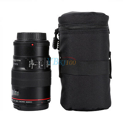 Shockproof  Lens Bag Case Padded Pouch Cover For DSLR Canon Nikon Sony Cameras
