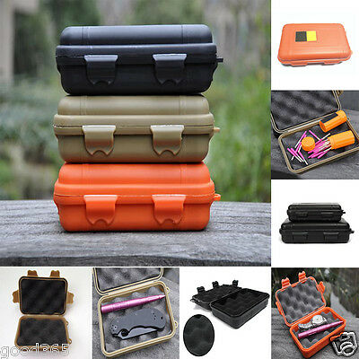 Outdoor Waterproof Shockproof Airtight Survival Container Storage Carry Case Box