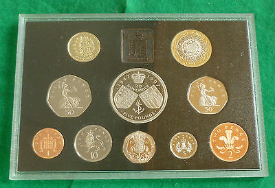 1997 Royal Mint UK Proof 10 Coin Year Set