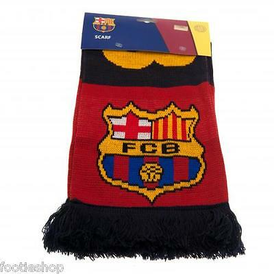FC Barcelona Scarf / Scarves New Licensed Official Merchandise (FCB)