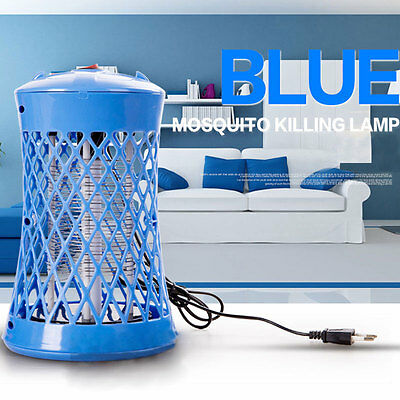 Electric Mosquito Fly Bug Insect Zapper Killer Control Trap Lamp Light EU