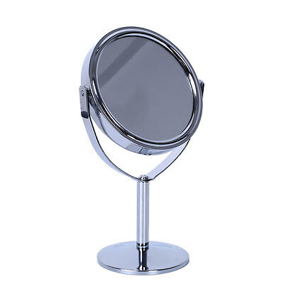 Beauty Cosmetic Makeup Round fashion Double-Side Normal Magnifying Stand Mirror