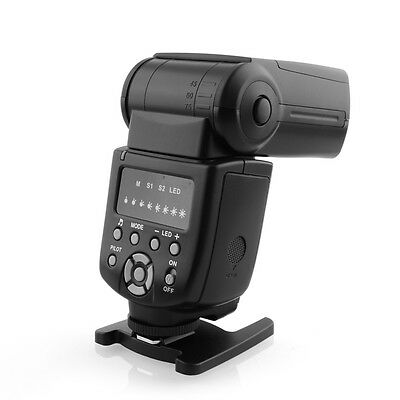 Camera Photography Speedlite Wireless Flash Slave Light for Canon 560 DSLR SLR