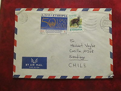 2003 - Ethipia - Old Cover - From Ethiopia To Santiago Of Chile