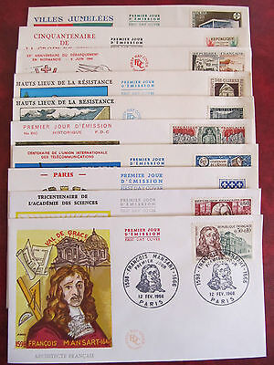 Fdc - Excellent Group Of10 Covers -  Differente Emission Countries (23)