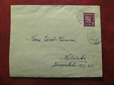 1936 - Finland - Old Cover