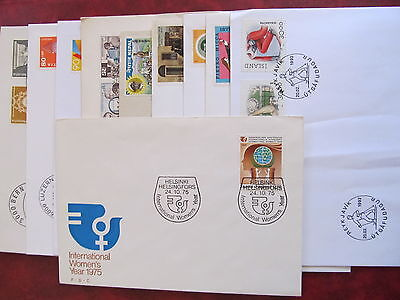 Fdc - Excellent Group Of10 Covers -  Differente Emission Countries (7)