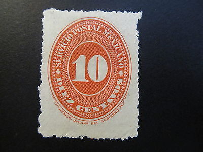 1890/95 - Mexico - Numeral Of Value - Scott 218 A18 10C