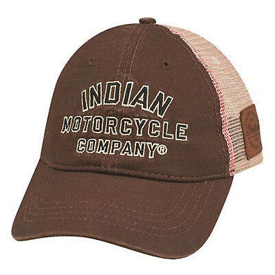 Indian Motorcycle New OEM IMC Trucker Hat, 2864402
