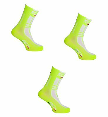 Kit Combo 3 Paia Calzini Ciclismo Proline Biagiaflu Cycling Socks One Size 39/46