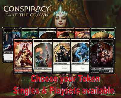 Conspiracy Take the Crown CN2 Choose your Token - Buy 2 or more save 10% - New