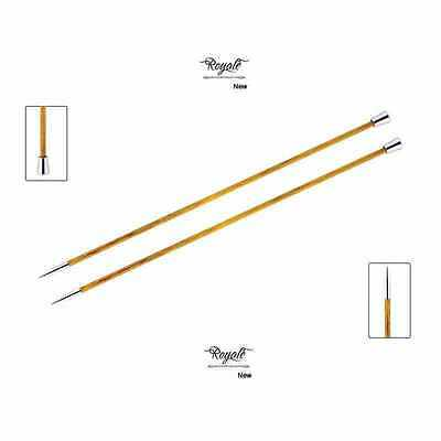 Knitter's Pride ::Royale Single Pointed Needles:: 7 US 10 in / 4.50 mm 25 cm