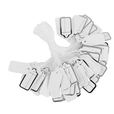 500pcs Strung Tie Watch Jewelry Display Price Ticket Tags Label