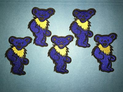 5 Lot Rare Grateful Dead Folk Rock Music Hat Jacket Backpack Hoodie Patches BB