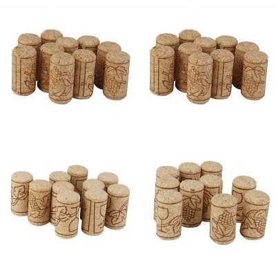10pc DIY Craft Wedding Home Hobby Art Wine Corks Bottle Stoppers