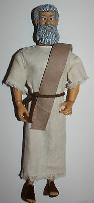Messengers of faith Moses doll Speaks! Quotes Scripture EUC
