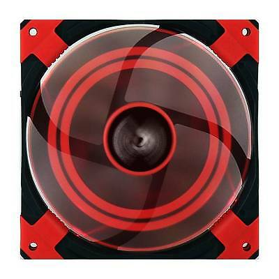 AeroCool Dead Silence 140mm Red Case Fan