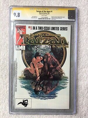 Tarzan of the Apes #1 July1984, Marvel CGC 9.8 NM/M SIGNATURE SERIES by Stan Lee