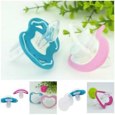 1xInfant Baby Supply Soft Silicone Orthodontic Nuk Pacifier Nipple Sleep Soother