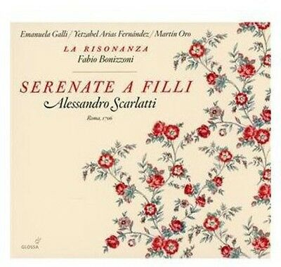 Serenate A Filli (Roma 1706) - A. Scarlatti (2011, CD NEUF)