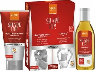 Vlcc Shaping kit ( Hips, Thighs & Arms Shaping Gel + Slimming Oil ) 100g Each