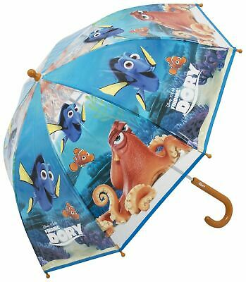 Childrens Umbrella For Outdoor&Travel Kids Disney Character Finding Dory Plastic