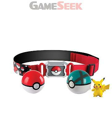 Pokemon Clip N Carry Poke Ball Belt - Soft Toys Plush Brand New Free Delivery