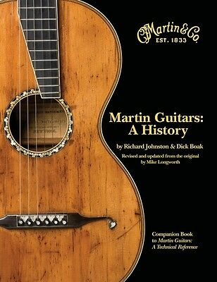 Martin Guitars: A History Book Hardcover NEW 000330889