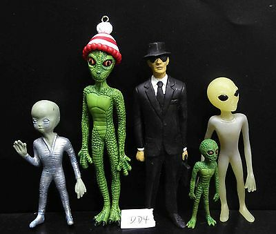 lot of 5 SHADOWBOX MYTHS & LEGENDS ALIEN COLLECTION figure ALIENS-RAR-VINTAGE